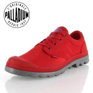 パラディウム PALLADIUM PAMPA OX PUDDLE LITE WP 75427-912-M 75427 TRUE RED/METAL レインシューズ スニーカー レディース 防水|washington