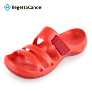 リゲッタ カヌー Regetta Canoe アクアカヌー AC101 メンズ レディース サンダル レッド 赤 RED|washington