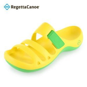 水に強いEVA素材を採用したリゲッタカヌーサンダル! 川や海にも入れる一足です!(濡れた路面は滑りや...