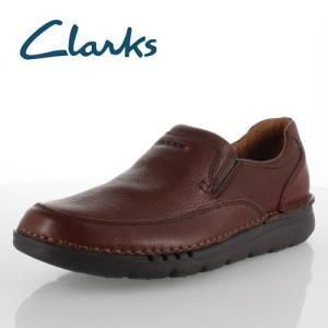クラークス メンズ Clarks Unnature Easy 829E アンネイチャーイージー ブラウン カジュアルシューズ 正規品|washington