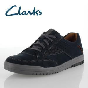 クラークス メンズ unstructured by Clarks Unrhombus Go 831E アンローンバスゴー ネイビーヌバック カジュアルシューズ 正規品|washington