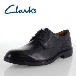 クラークス メンズ Clarks Chilver Walk GTX 801E チルバーウォークGTX ブラック ゴアテックス ビジネスシューズ 正規品|washington