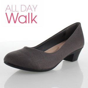 ALL DAY Walk オールデイウォーク 073 靴 ALD0730 パンプス チャコール 撥水加工 2E アキレス Achilles グレー レディース セール washington