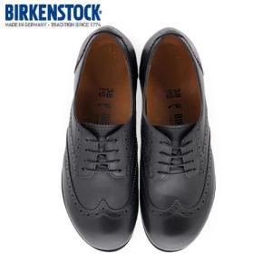 ビルケンシュトック BIRKENSTOCK ララミー ロー LARAMIE LOW 1006908 レディース シューズ 靴 ブラック 本革 ウィングチップ ナロー 幅狭|washington