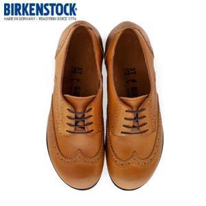 ビルケンシュトック BIRKENSTOCK ララミー ロー LARAMIE LOW 1006910 レディース シューズ 靴 キャメル 本革 ウィングチップ ナロー 幅狭 セール|washington