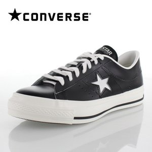 CONVERSE コンバース ONE STAR J ワンスター 46511 ブラック/ホワイト 黒 ...