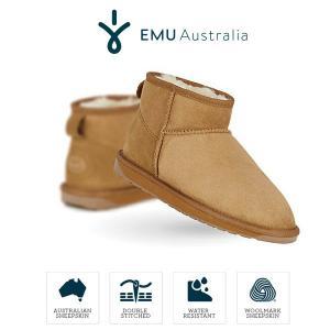 emu Australia エミュ ムートンブーツ スティンガー マイクロ W10937 撥水レディース チェストナット Stinger Micro セール|washington