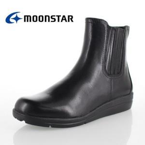 ムーンスター スポルス moonstar sporth 靴 SP1778WP 1778 ブーツ サイドゴア ショートブーツ 防水 3E 黒 ブラック レディース セール|washington