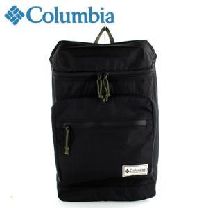 コロンビア Columbia プライスストリームスクエアバックパック Price Stream Square Backpack 8166-01 デイパック リュック ブラック 20L washington