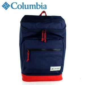 コロンビア Columbia プライスストリームスクエアバックパック Price Stream Square Back pack 8166-N3 デイパック リュック ネイビー washington