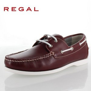 REGAL リーガル 靴 メンズ 72PR AF WINE 本革 デッキシューズ 2E ワイン 紳士靴 特典B|washington