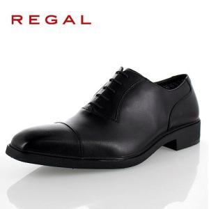 リーガル 靴 メンズ REGAL 31PRBE ブラック ビジネスシューズ ストレートチップ 2E ...