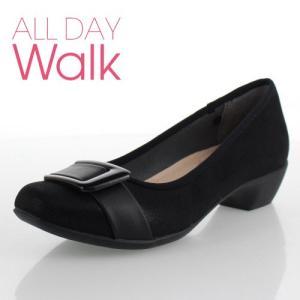 ALL DAY Walk オールデイウォーク 靴 2000 パンプス 2E 幅広 ベネトン アキレス 200 黒 ブラック レディース スクエアトゥ 撥水加工 セール|washington