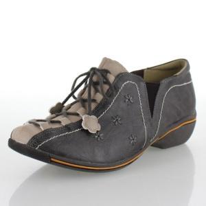 partam パータム 靴 5104 シューズ サイドゴア カジュアル 防滑 旅行 花柄 ウォーキング グレー ベージュ レディース washington