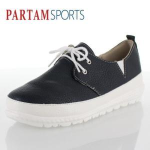 PARTAM SPORTS パータムスポーツ 靴 710 スニーカー シューズ スリッポン スポーティ シンプル ネイビー ブラック レディース washington