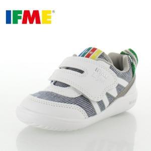 子供靴 スニーカー イフミー IFME Light ベビー キッズ シューズ 22-8001 WHITE 通園 通学 マジックテープ 運動靴 ホワイト セール washington