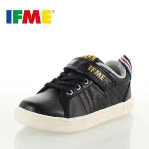 子供靴 スニーカー IFME Light イフミー キッズ ジュニア シューズ 22-8007 BLACK スニーカー 通園 通学 運動靴 ブラック washington