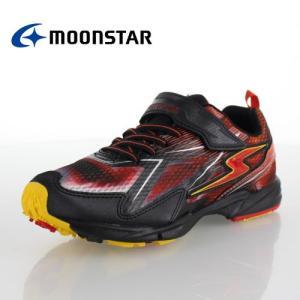 ムーンスター スーパースターバネのチカラ 男の子  MoonStar J819 RED ジュニア スニーカー 2E レッド クール イナズマ 子供靴 運動 体育 セール|washington