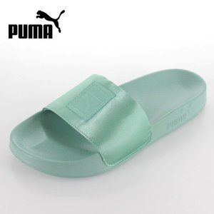 プーマ レディース サンダル puma Leadcat Satin Wns 365338 03 ブルー リードキャット サテン セール|washington