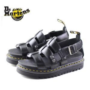 ドクターマーチン Dr.Martens 23521001 テリー ストラップ サンダル ZEBRILUS TERRY BLACK BRANDO メンズ レディース 靴|washington
