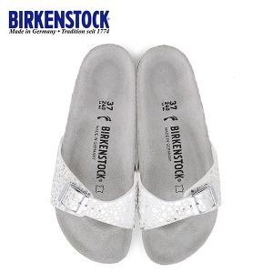 ビルケンシュトック BIRKENSTOCK マドリッド レディース MADRID BS 1008802 幅狭 サンダル シルバー 国内正規品 セール|washington