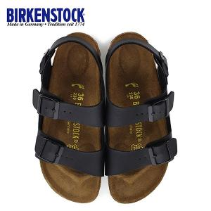 ビルケンシュトック BIRKENSTOCK ミラノ Milano 0034793 幅狭 レディース サンダル 靴 ブラック バックベルト  国内正規品|washington