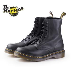 ドクターマーチン Dr.Martens 13512006 パスカル PASCAL 8ホール ブラック 黒 8EYE BLACK VIRGINIA ブーツ レディース 13512|washington