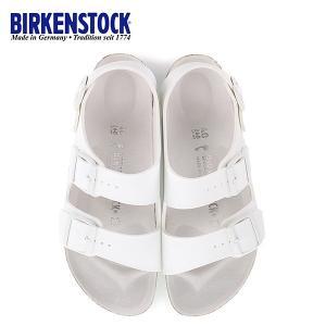ビルケンシュトック BIRKENSTOCK ミラノ Milano BS HEX 1008074 幅狭 メンズ レディース サンダル 靴 ホワイト バックベルト  国内正規品|washington