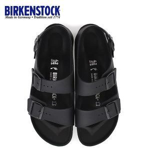 ビルケンシュトック BIRKENSTOCK ミラノ Milano BS HEX 1008075 幅狭 メンズ レディース サンダル 靴 ブラック バックベルト  国内正規品|washington