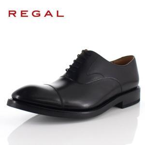 リーガル REGAL 靴 メンズ ビジネスシューズ 01RRBG ブラック ストレートチップ 内羽根式 紳士靴 日本製 本革 特典B|washington