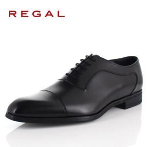 リーガル REGAL 靴 メンズ ビジネスシューズ 11RRBD ブラック ストレートチップ 内羽根式 紳士靴 日本製 本革 特典B|washington