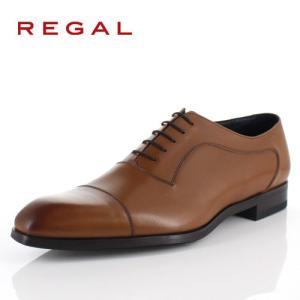 リーガル REGAL 靴 メンズ ビジネスシューズ 11RR BD ブラウン ストレートチップ 内羽根式 紳士靴 日本製 2E 本革 特典B washington