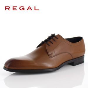 リーガル REGAL 靴 メンズ ビジネスシューズ 14RR BD ブラウン プレーントゥ 外羽根式 紳士靴 日本製 2E 本革 特典B washington