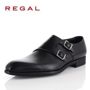 リーガル REGAL 靴 メンズ ビジネスシューズ 17RRBD ブラック ダブル モンクストラップ 紳士靴 日本製 本革 特典B|washington