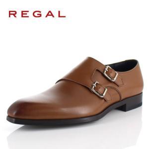 リーガル REGAL 靴 メンズ ビジネスシューズ 17RRBD ブラウン ダブル モンクストラップ 紳士靴 日本製 本革 特典B|washington