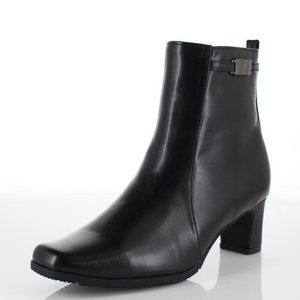 FIELDTEX フィールドテックス 靴 KT-3131 ブーツ ヒール ショートブーツ サイドジップ 3E 防水 黒 ブラック レディース|washington