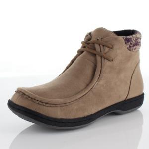 LOILO ロイロ 靴 703 ワラビーブーツ ブーツ 撥水 レースアップ ウインターブーツ 茶色 ブラウン レディース|washington