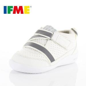 スニーカー イフミー ベビー IFME Light シューズ 22-8701 WHITE スニーカー キッズ 子供靴 白 ベルト ベルクロ|washington