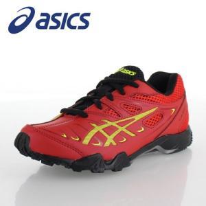 アシックス レーザービーム asics LAZERBEAM SC 1154A004-600 3Y-00004 CLASSIC RED/SAFETY YELLOW キッズ スニーカー 紐タイプ 運動靴|washington
