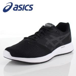 アシックス メンズ スニーカー asics パトリオット10 1011A131-001 ブラック ランニング ジョギング|washington