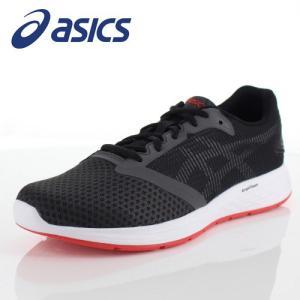 アシックス メンズ スニーカー asics パトリオット10 1011A131-021 ダークグレー ランニング ジョギング|washington