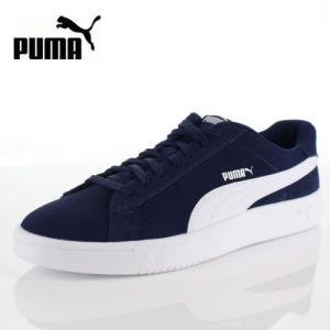 PUMA プーマ コートブレイカー ダービー 367366 03 レディース メンズ スニーカー Court Breaker Derby ネイビー 紺 靴|washington
