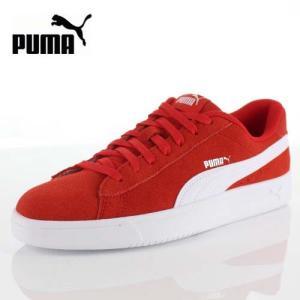 PUMA プーマ コートブレイカー ダービー 367366 05 レディース メンズ スニーカー Court Breaker Derby レッド 赤 靴|washington