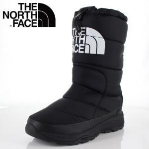 ザ ノースフェイス レディース ブーツ THE NORTH FACE NF51872 ブラック/ホワイト (KW) ヌプシブーティーウォータープルーフ V Iトール|washington