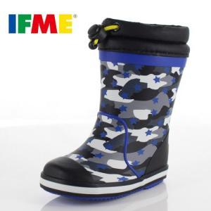イフミー ベビー キッズ 長靴 IFME RAINBOOTS 80-8724 BLACK レインブーツ ブラック 防水 防滑|washington