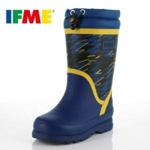 イフミー キッズ 長靴 IFME RAINBOOTS 80-8727 BLUE レインブーツ ブルー 防水 防滑|washington