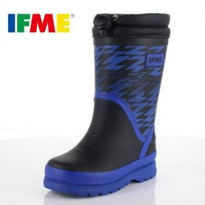 イフミー キッズ 長靴 IFME RAINBOOTS 80-8727 BLACK レインブーツ ブラック 防水 防滑|washington