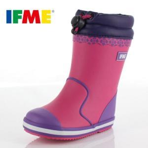 イフミー ベビー キッズ 長靴 IFME RAINBOOTS 80-8724 PINK レインブーツ ピンク 防水 防滑|washington