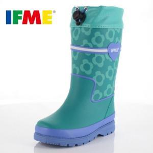 イフミー キッズ 長靴 IFME RAINBOOTS 80-8727 MINT レインブーツ ミント 防水 防滑|washington