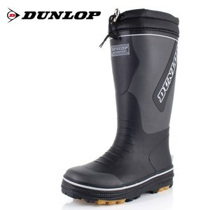 DUNLOP MOTORSPORT ダンロップモータースポーツ 靴 ドルマンG324 BG324 長靴 軽量 防滑 雨 雪 灰色 グレー メンズ|washington